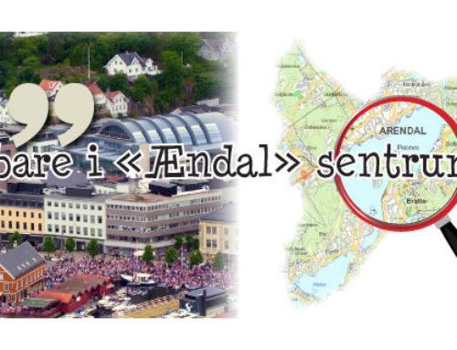 Fokus på Arendal Sentrums kvaliteter